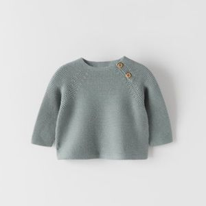 NWT 3-6 month Zara cable knit sweater